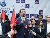 İBB Başkanı Ekrem İmamoğlu Saraçhane'de halka seslendi