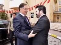 Kamu Başdenetçisi Şeref Malkoç, Başkan Savcı Sayan'ı ziyaret etti