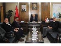 Milletvekili Battal'dan Başkan Pekmezci'ye hayırlı olsun ziyareti
