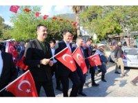 Kalkan'da turizm haftası kutlaması