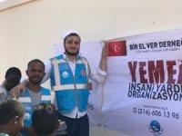 Türk hayırseverler Afrikalı çocukları gülümsetti