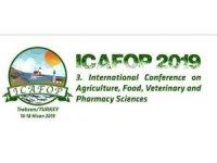 Kayseri Şeker ICAFOP- 2019 Konferansında