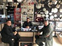 Kaymakam Halim'den esnaf ziyareti