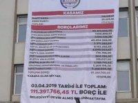 MHP'li başkan AK Partili başkandan kalan borcu ifşa etti