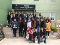 Pazaryerili öğrencilerden TUBİTAK ziyareti