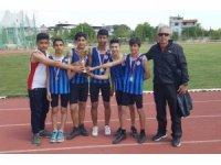 Germencik Belediyespor Atletizm Takımı il birincisi oldu