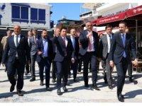 Turizm Bakanı Ersoy, Bodrum'da incelemelerde bulundu