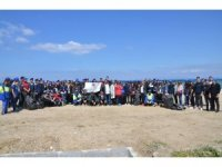 Davutlar ve Güzelçamlı sahili temizlendi