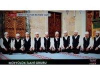 Amasya'daki Berat Kandili Programı TGRT Haber'den canlı yayınlandı