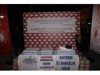 Tarım ve Orman Bakanlığı Kandil Gecesi Süt Dağıttı