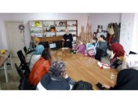Sason'da kadınlar meslek öğrenerek para kazanıyor