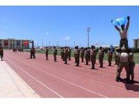 1'inci Somali Piyade Taburu'na mezuniyet töreni