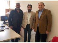 DAGC ve EGC başkanlarından İHA'ya ziyaret