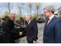 Cumhurbaşkanı Erdoğan, Yıldırım, Özhaseki ve bazı belediye başkanları ile görüştü