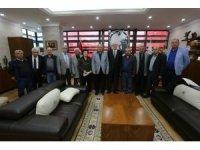 Başkan Kurt, Eskişehir Hacı Bektaş Veli Anadolu Kültür Vakfı ile buluştu