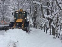 Ordu'nun yüksek kesimlerinde kar sürprizi