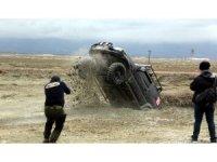 Erzincan'da off-road yarışları nefes kesti