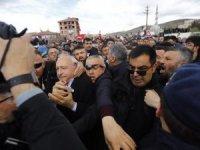 Kılıçdaroğlu'na saldırı anının görüntüleri