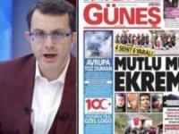 AKP'den yandaş Güneş'in manşetine tepki