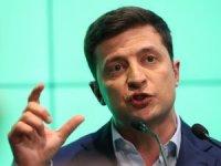 Ukrayna'da seçimin galibi komedyen Zelenskiy