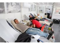 Cizrelilerden kan bağış kampanyasına yoğun ilgi