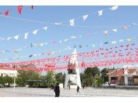 Manisa Türk Bayraklarıyla donatıldı