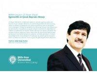 BEÜ Rektörü Yardım'dan 23 Nisan mesajı
