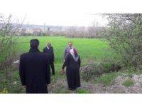 Başkan Kavaklıgil, tarım arazilerini inceledi