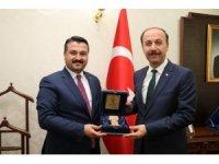 AK Parti İl Başkanı Yıldız Vali Erin'i ziyaret etti