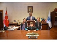 Taşköprü'de başkanlık koltuğuna Kaan Mert Topçu oturdu