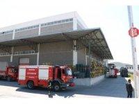 Manisa OSB'de çıkan yangın korkuttu