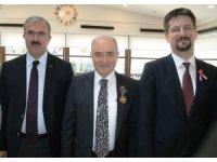 Kütahyalı İşadamı Güral'a, Macaristan Cumhurbaşkanlarından iki altın madalya