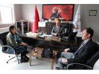 Varto YBO'lu öğrenci Türkiye birincisi