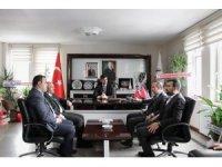 Milletvekilinden Başkan Tanğlay'a hayırlı olsun ziyareti