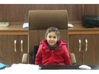BEÜ'ye anaokulu öğrencilerinden 23 nisan ziyareti