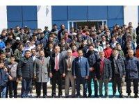 Avrupa'dan gelen 140 Türk öğrenci Dumlupınar'ı ziyaret etti