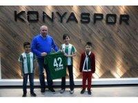 Konyaspor'un çocuk başkanından Aykut Kocaman sözü