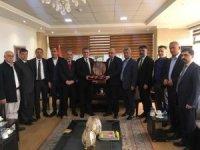 DTSO'dan Süleymaniye TSO'ya ziyaret