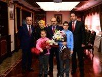 Trabzon'da, 23 Nisan Ulusal Egemenlik ve Çocuk Bayramı Kutlamaları