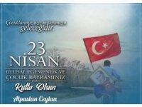 Prof. Dr. Ceylan'dan 23 Nisan mesajı