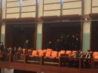 TBMM'de 23 Nisan özel oturumu: Erdoğan, Buldan konuşurken salonu terk etti