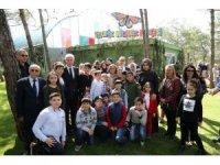 Türkiye'nin ikinci Tropik Kelebek Bahçesi açıldı
