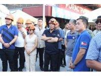 Filipinler Devlet Başkanı Duterte'den deprem bölgesine ziyaret