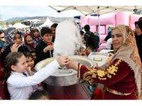 Karabük'te düzenlenen çocuk şenliğinde çocuklar doyasıya eğlendi