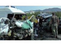 KKTC'de korkunç kaza: 4 yaralı
