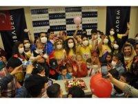 Hastanede 23 Nisan sevinci