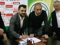Erkan Sözeri, Giresunspor'a imzayı attı