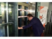 Asansörler bugün Bilecik'te çalışmadı