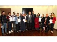 Ticaret Borsası girişimcilik sertifikalarını dağıttı