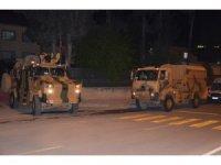 Gece yarısı Suriye sınırına komanda takviyesi
